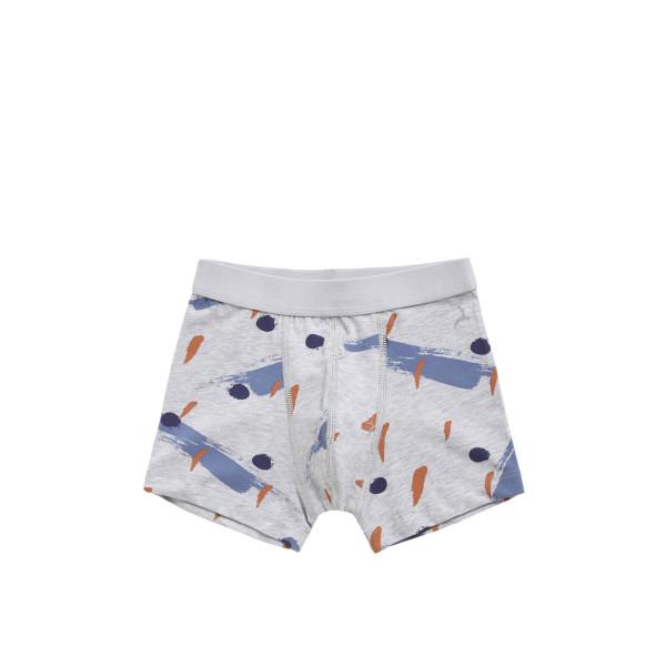 Ten Cate Boys Shorts 7-12Y Urban Camo Light Grey Melee