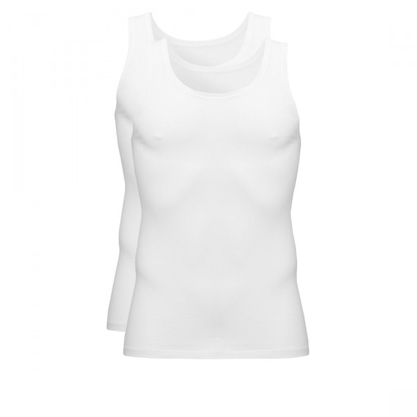 Ten Cate 2-Pack Basic T-shirts V-Hals Wit