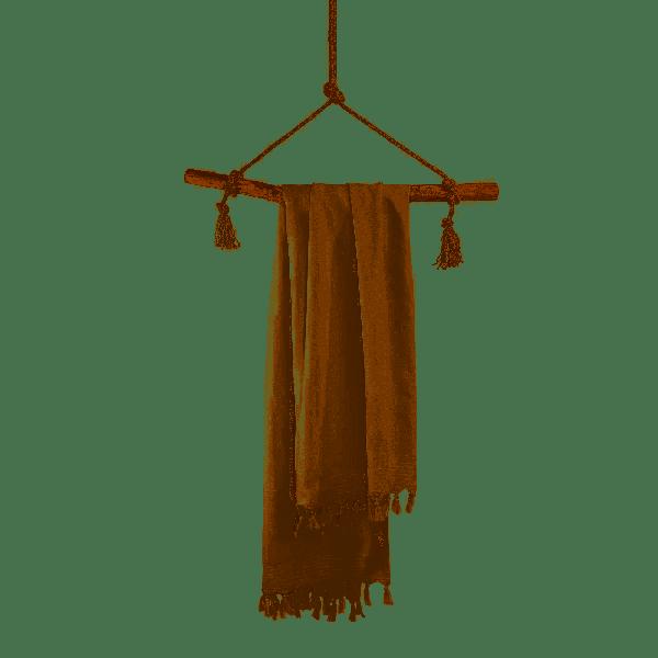 WALRA Hamamdoek Soft Cotton Kiezel Grijs, 100x180