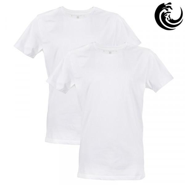 Vinnie-G t-shirt wit rond 2