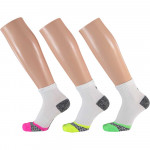 Apollo Dames Multi White Hardloop sokken 3-pack