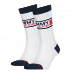 Tommy Hilfiger Uni Tj Sock White 2-Pack