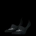 Puma sokken Footie zwart 2-pack