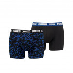 Puma Boxer Abstract Camo Blue/Black 2-pack