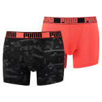 Puma Boxershorts Active Digital Blocking Red
