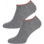 Puma - Dames Sneaker Sokken Grijs / Brons 2-pack