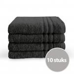 Byrklund Handdoek 70 x 140 Antraciet - 10 stuks