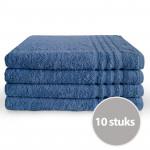 Byrklund Handdoek 70 x 140 Blauw - 10 stuks