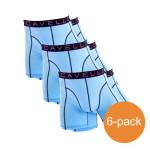 Cavello Boxershorts Lichtblauw 6-Pack