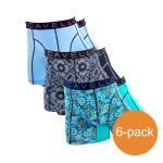 Cavello Boxershorts Verrassingspakket Blauw 6-Pack