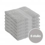 Clarysse Voordeelpakket Talis Handdoek Grijs 6 stuks