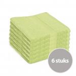 Clarysse Voordeelpakket Talis Handdoek Limegroen 6 stuks