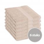 Clarysse Voordeelpakket Talis Handdoek Zand 6 stuks