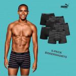 Dagaanbieding Puma Stripe boxershorts