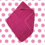 Dagaanbieding The One Towelling Baby Handdoek met Capuchon Magenta