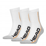 HEAD Stripe Performance Short 3-pack white/grey