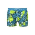Ten Cate Men Printed Shorts 3224 Jungle Blue