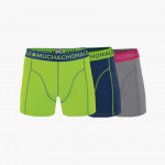Muchachomalo Boxershorts 3 pack Solid
