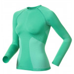 Odlo Thermo Shirt Sports Underwear Evolution Warm Women Green