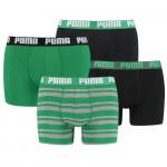 Puma 4-Pack Combi Basic/Stripe Green