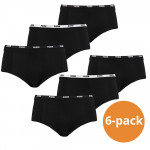 Puma Mini Short Dames Zwart 6-Pack