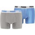 Puma Basic Boxershort 2-Pack | Blue/Grey-176