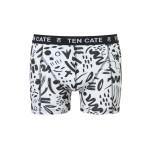 Ten Cate Men Printed Shorts 3224 Scratch White