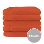 The One Handdoek Deluxe 50x100  550 gr Terra Spice (5 stuks)