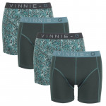 Vinnie-G boxershorts Leaves Dark-Print 4-pack