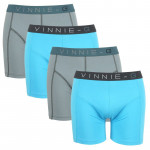 Vinnie-G boxershorts Wave Uni 4-pack