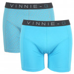 Vinnie-G boxershorts Wave Print-Light 2-pack