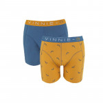 Vinnie-G Boys boxershorts Wakeboard Blue - Print 2-Pack