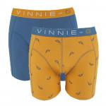 Vinnie-G boxershorts Wakeboard Blue - Print 2-Pack