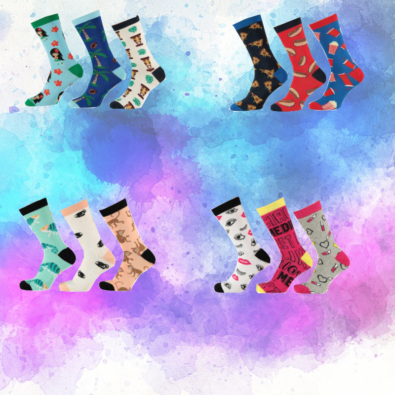 Dagaanbieding - Dagaanbieding Apollo Computer sokken 3-pack dagelijkse koopjes