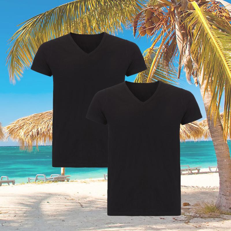 Dagaanbieding - Dagaanbieding Ten Cate Bamboo T-shirts 2-pack dagelijkse koopjes