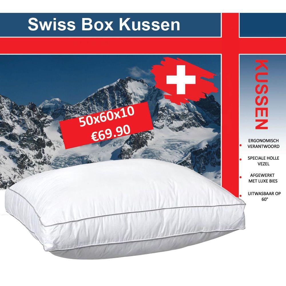 Dagaanbieding - Swiss Boxkussen dagelijkse koopjes