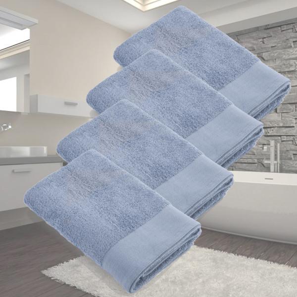 Dagaanbieding - Dagaanbieding Walra Soft Cotton Douchelaken 70x140 - 4 stuks dagelijkse koopjes