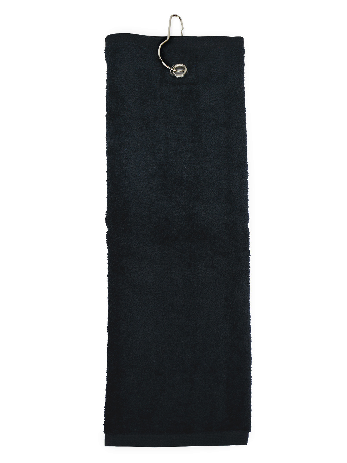 The One Golfhanddoek 30x50 cm 450 gram Zwart